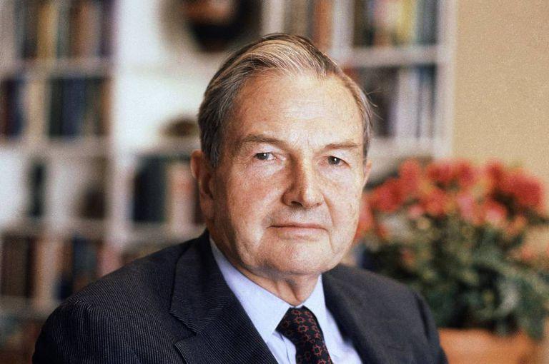 David Rockefeller, em uma foto de 1981