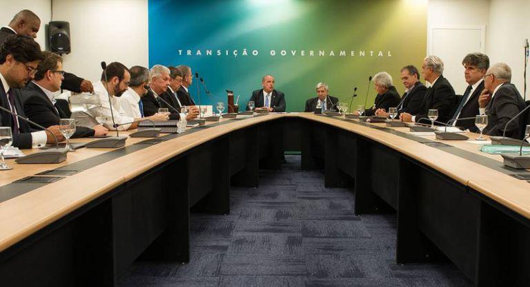 Equipe de transição nomeada por Bolsonaro.