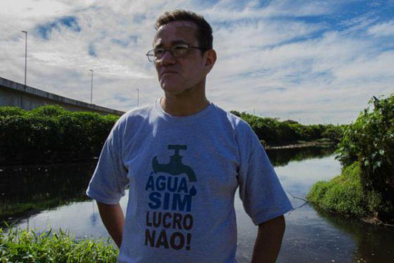 Marzeni Pereira, ex-funcionário da Sabesp, trabalhou como tecnólogo em uma estação de tratamento por 12 anos.