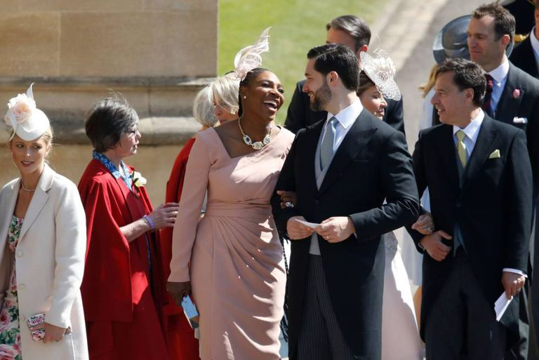 Serena Williams e seu marido, o empresário Alexis Ohanian.
