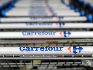 Carrinhos do Carrefour em São Paulo