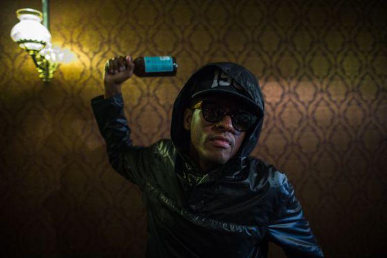 O rapper Rico Dalasam.
