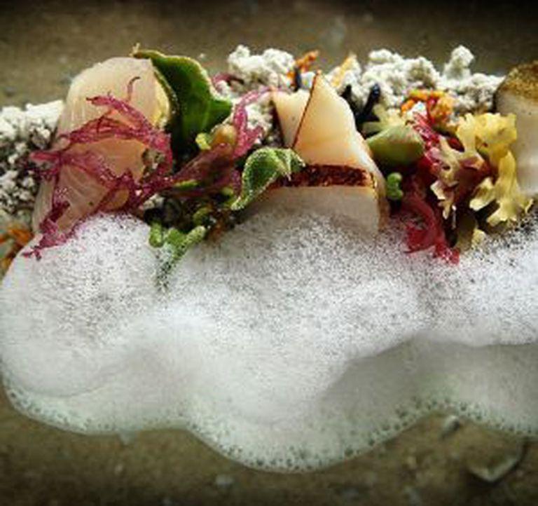 'Barulho do mar', um dos pratos mais famosos de Blumenthal.