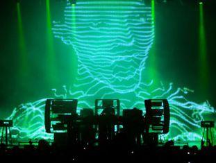 The Chemical Brothers, no Sónar em 2010 em Barcelona.