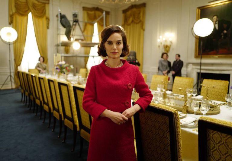 Natalie Portman, como Jacqueline Kennedy Onassis, em 'Jackie'.