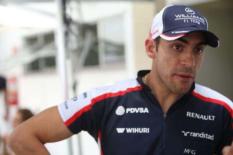 Pastor Maldonado, no GP do Brasil.