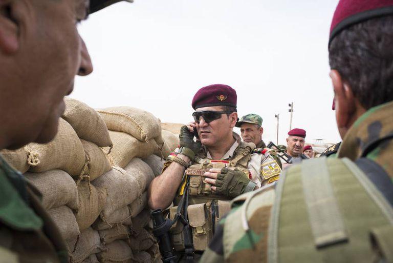 O chefe das forças especiais dos peshmerga, Almi Mosuri.