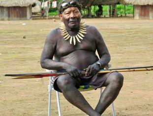 """Akã Panará liderou a luta para que seu povo voltasse à terra original: """"Fiquei muito feliz de voltar porque esse é o nosso lugar, aqui que está a nossa tradição"""""""