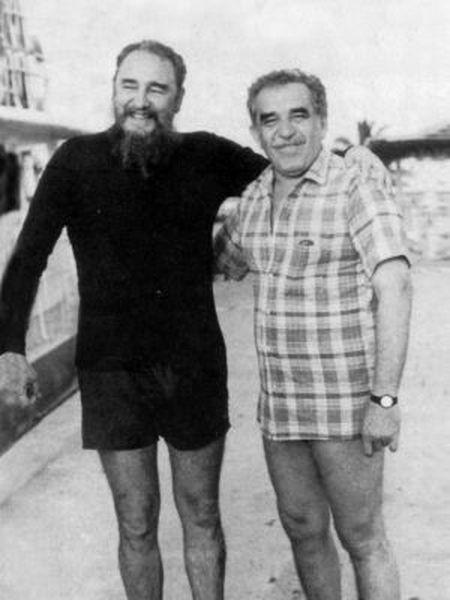 Fidel Castro e Gabriel García Márquez, em 1985, capa do livro 'Gabo e Fidel. A paisagem de uma amizade', de Ángel Esteban e Stéphanie Panichelli.