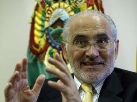 O ex-presidente boliviano Carlos Mesa, em Madri.