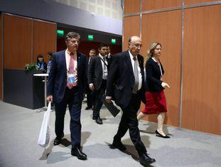 O ministro da Fazenda do Brasil, na cúpula do G-20 em Buenos Aires.