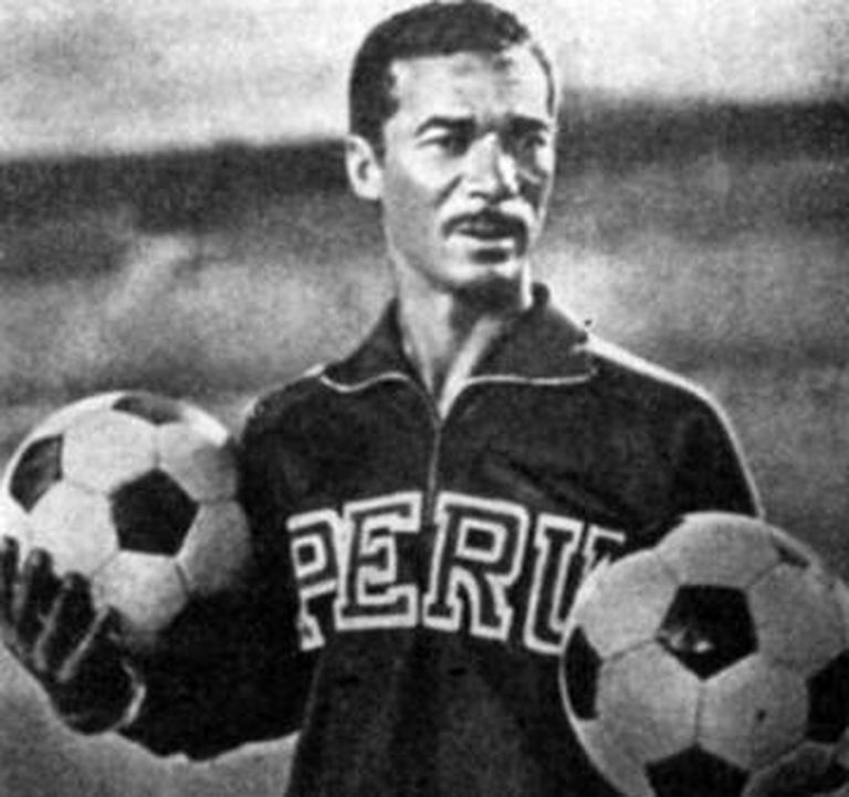 Didi treinando o Peru.