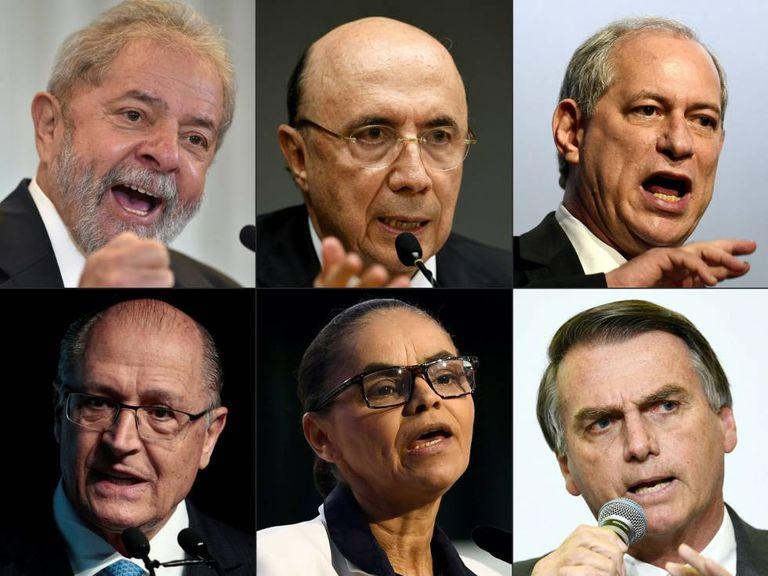Parte dos candidatos do pleito deste ano.