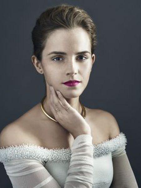 A atriz Emma Watson.