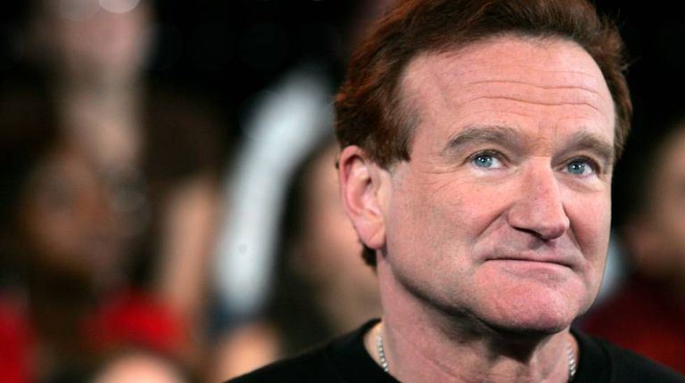 O ator Robin Williams