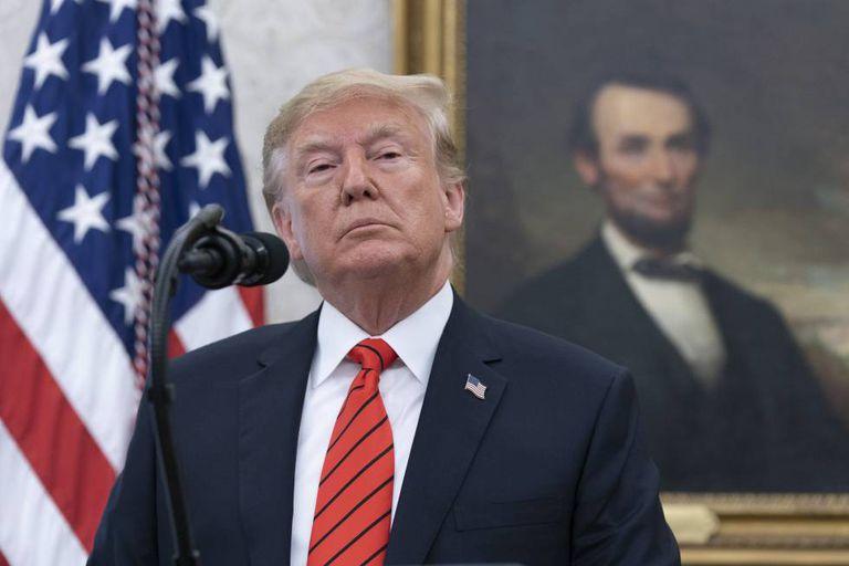 O presidente Donald Trump.