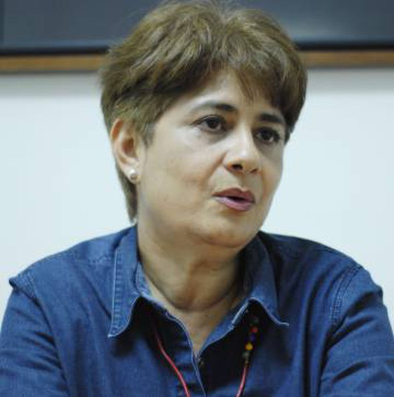 Oly Millán, ex-ministra de Economia.
