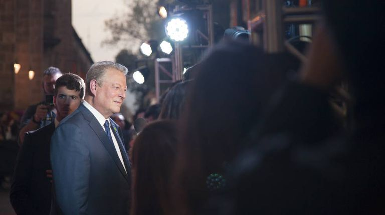 Al Gore na pré-estreia de 'Uma Verdade Inconveniente 2'