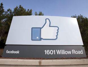 Sede corporativa do Facebook em Menlo Park, Califórnia.