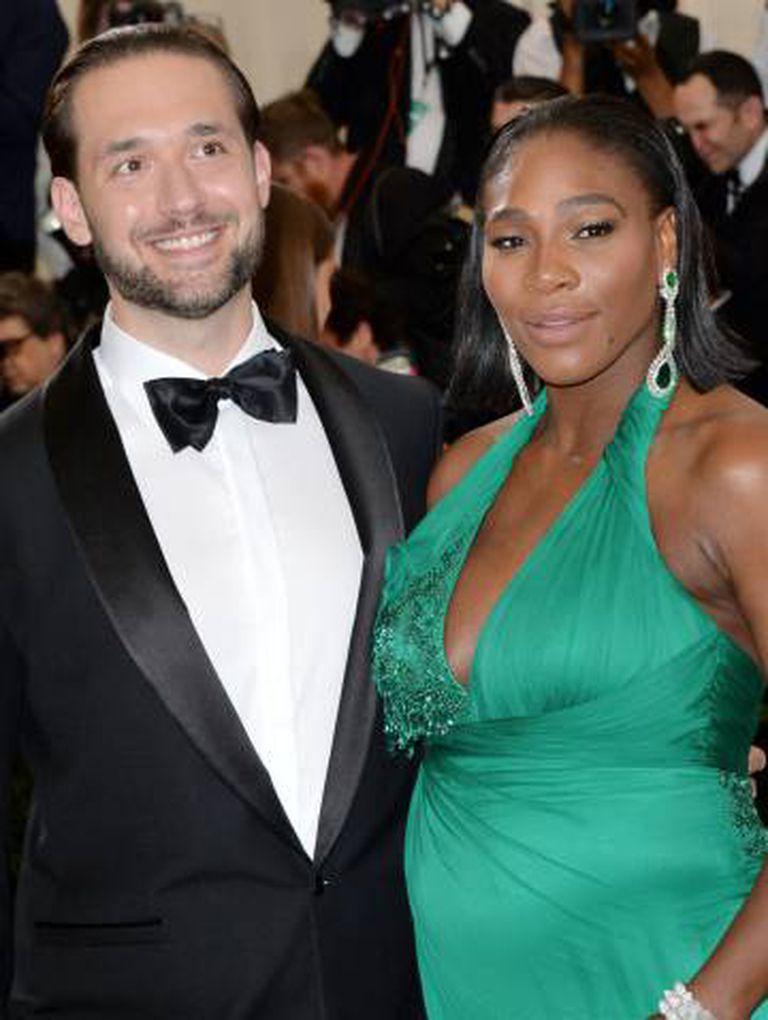 Serena Williams e Alexis Ohanian