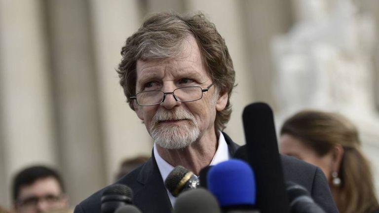 Jack Phillips nesta segunda-feira, em frente à Suprema Corte.