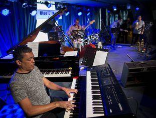 Concerto no Blue Note do Rio de Janeiro.