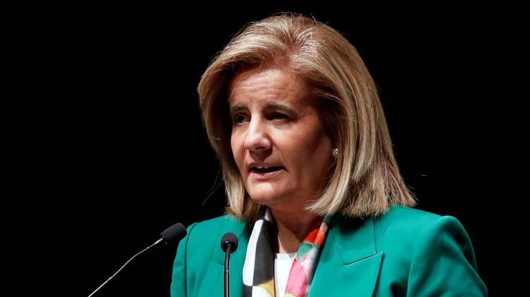 A ministra do Emprego, Fátima Báñez.