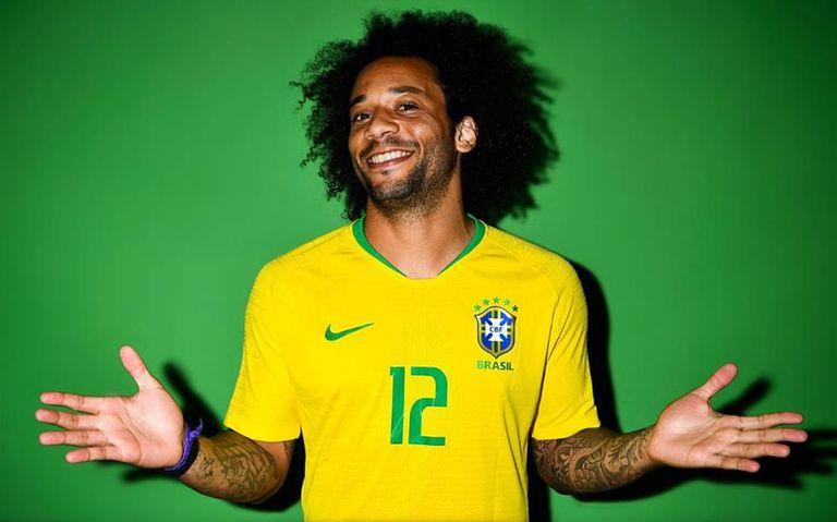 Marcelo será o capitão do Brasil na estreia contra a Suíça.