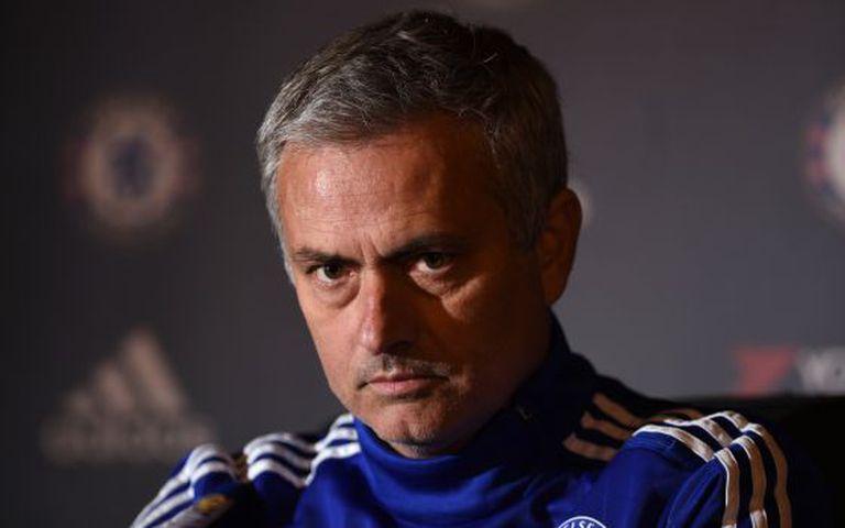 Mourinho, em entrevista coletiva.
