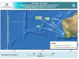 O barco australiano que colabora com as buscas capta, durante duas horas, um sinal compatível com o de uma caixa-preta
