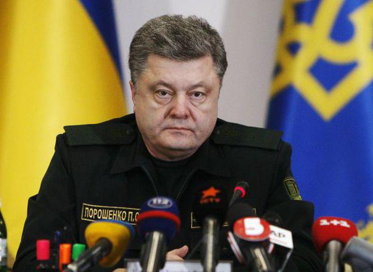 Poroshenko ordena o cessar-fogo às suas tropas.