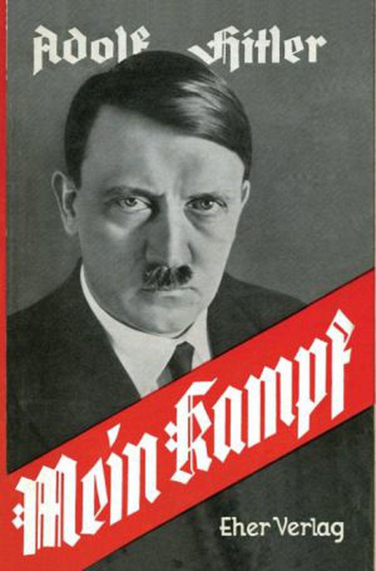 Capa de uma das primeiras edições de 'Minha Luta'.