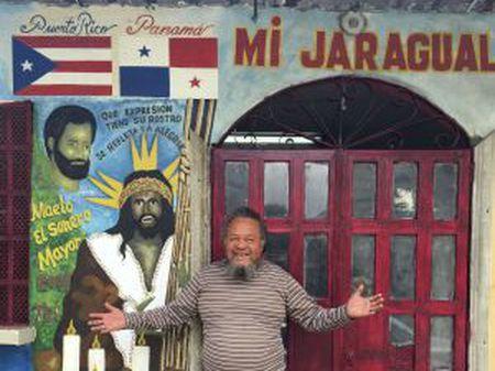 Pedro Rodríguez, o 'Sorolo', propietário de uma cantina em El Chorrillo