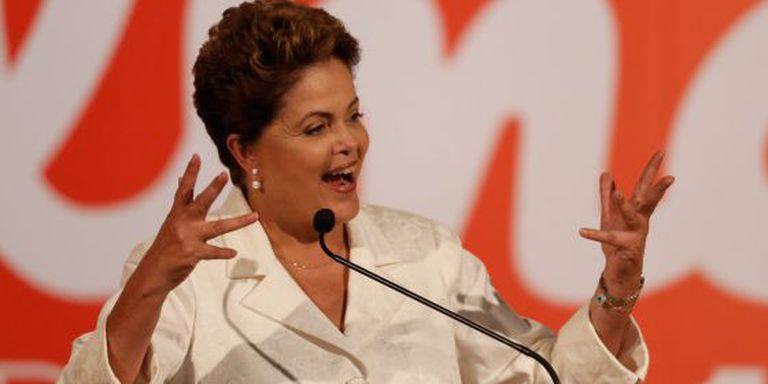 Dilma fala sobre o resultado das eleições, em Brasília.