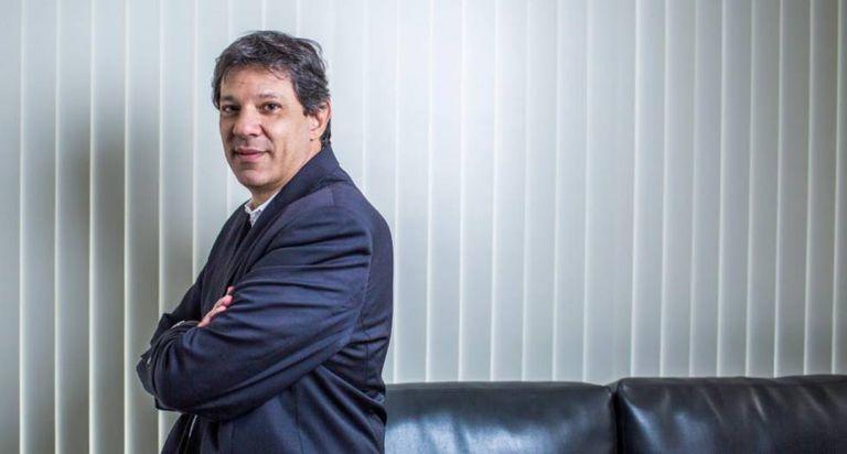 O prefeito Fernando Haddad.