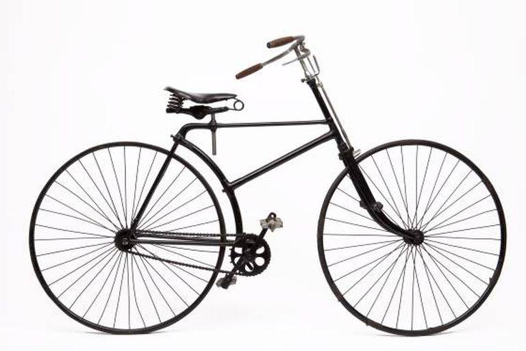 Bicicleta norte-americana da década de 1890