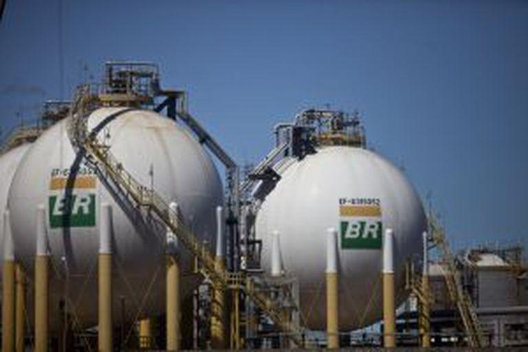 Tanques da Petrobras