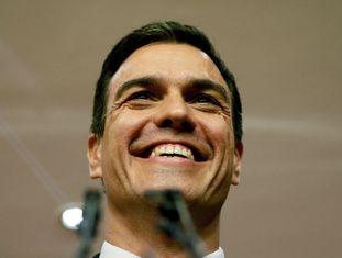 O socialista Pedro Sánchez.