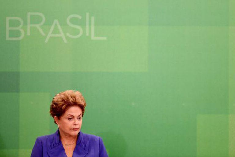 Dilma em evento em Brasília no dia 18.