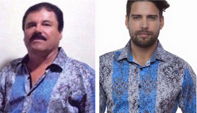 O modelo de camisa que El Chapo usou em sua entrevista está à venda.