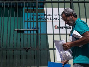 Posto de saúde da zona leste de São Paulo.