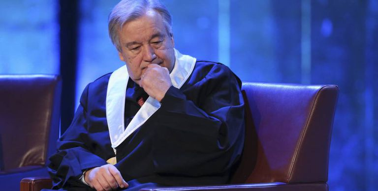 António Guterres, secretário geral da ONU.