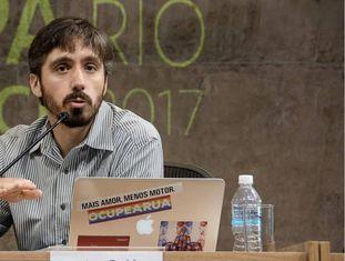 O diretor do Ciclocidade, Rene Fernandes.