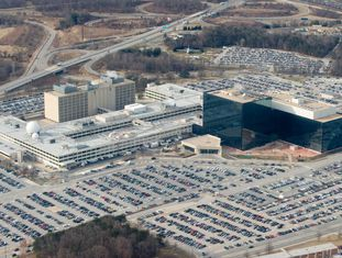Sede da NSA em Fort Meade, Maryland.