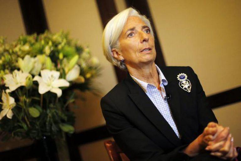A diretora gerente do FMI, Christine Lagarde.