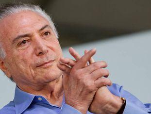 Michel Temer em Limeira (SP), no dia 2.