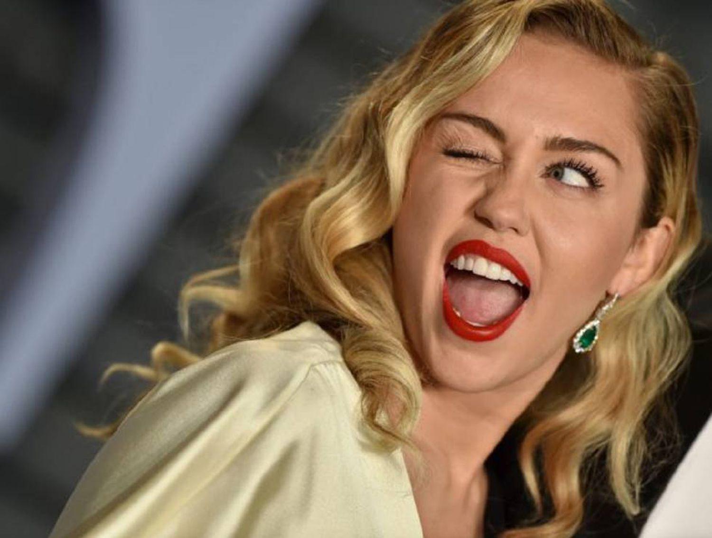 Miley Cyrus em festa após o Oscar de 2018