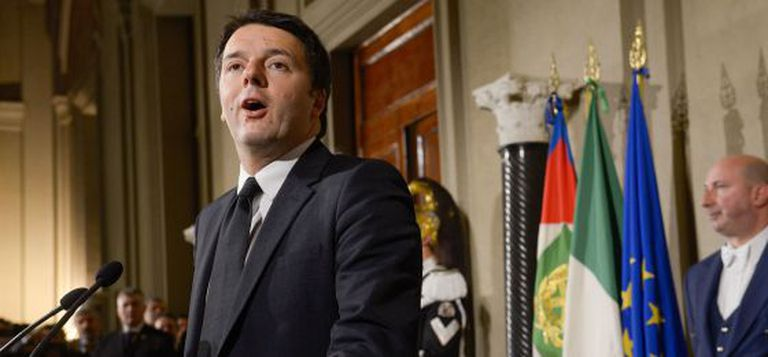 O primeiro-ministro da Itália, Matteo Renzi.