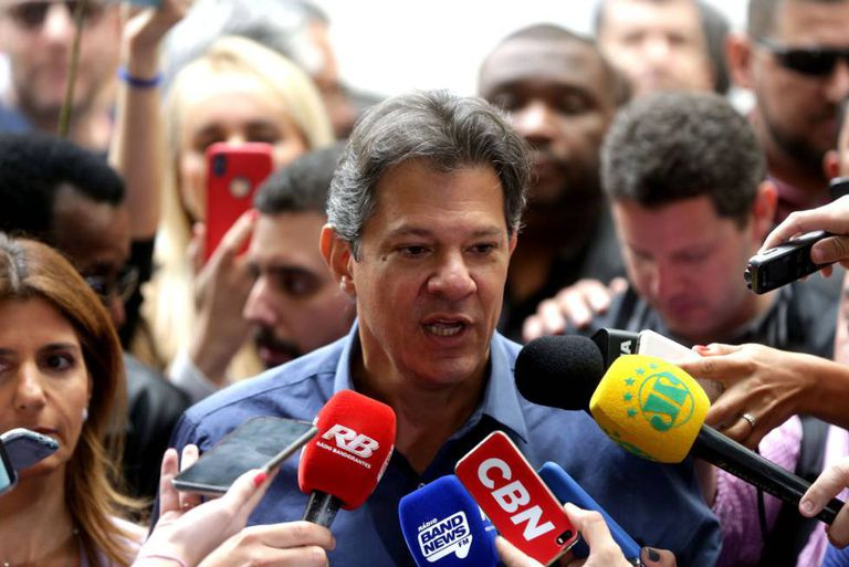 Fernando Haddad, candidato a presidente do PT