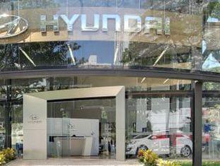 Concessionária Hyundai em São Paulo.